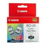 Mực in phun màu Canon BCI 24B Twin pack