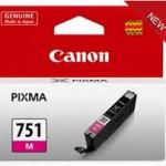 Mực in phun màu Canon CL-751M (Magenta)