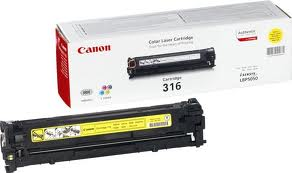 Mực in laser màu Canon Cartridge 316Bk (Black)