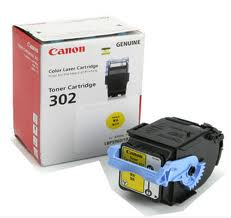 mực in canon cartridge 302y Mực in laser màu Canon Cartridge 302Y (Yellow)